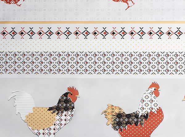 PVC Chicken Tablecloth