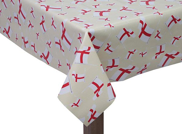 PVC England Flag Tablecloth