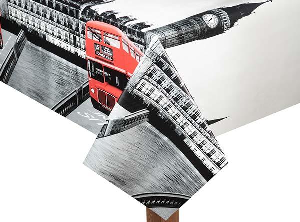 PVC London Tablecloth