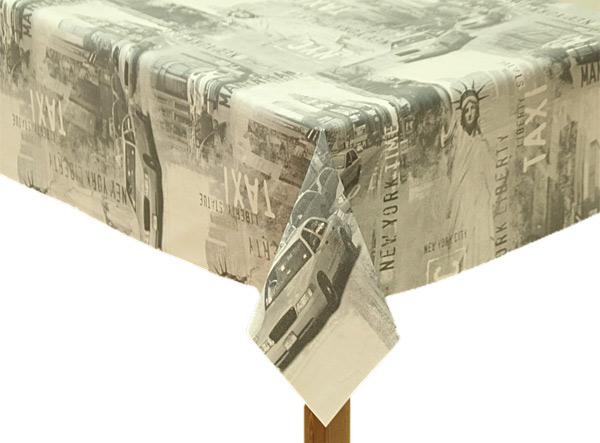 PVC New York Tablecloth