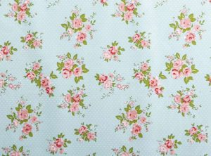 PVC Floral Tablecloth