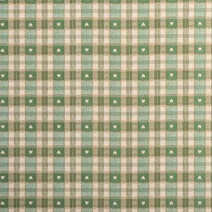 PVC Gingham Green Tartan Tablecloth