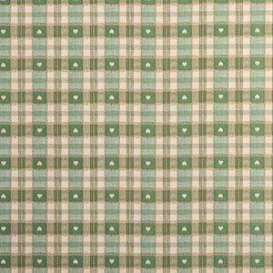 PVC Gingham Green Tartan Tablecloth