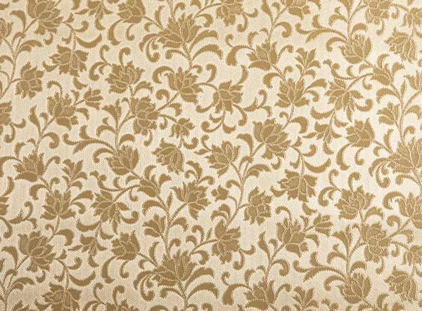 Square PVC Gold Damask Tablelcoth