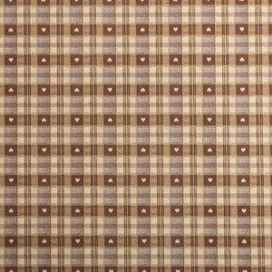 PVC Chocolate Tartan Tablecloth