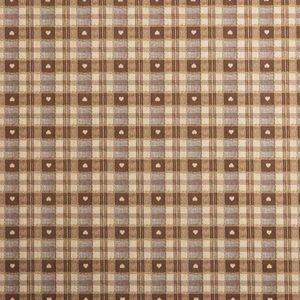 PVC Chocolate Tartan Tablecloth