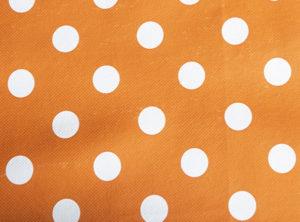 Polka Dot Orange