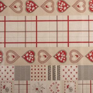PVC Sweet Hearts Tablecloth