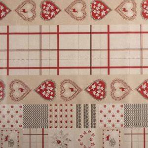 PVC Sweet Hearts Tablecloth