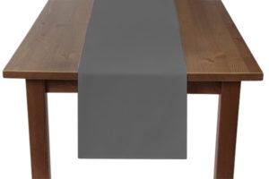 Light Grey Table Runner