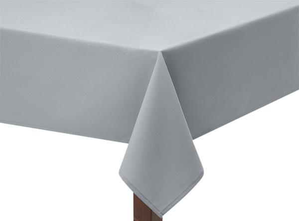 Light Grey Polycotton Square Tablecloth