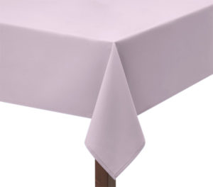 Light Pink Polycotton Square Tablecloth