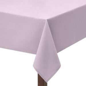 Light Pink Polycotton Square Tablecloth
