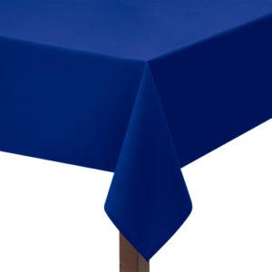 Royal Blue Polycotton Square Tablecloth