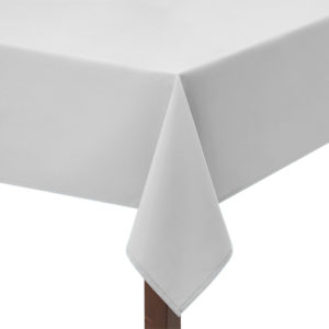 Superior Polyester White Tablecloth