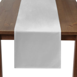 White Table Runner