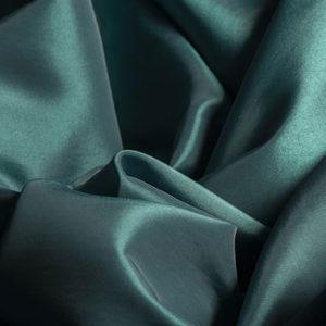 Taffeta Emerald Green Square Tablecloth