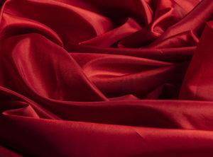 Taffeta Red Square Tablecloth