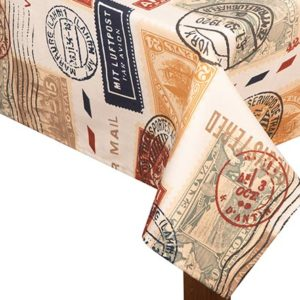 Air mail Square Tablecloth