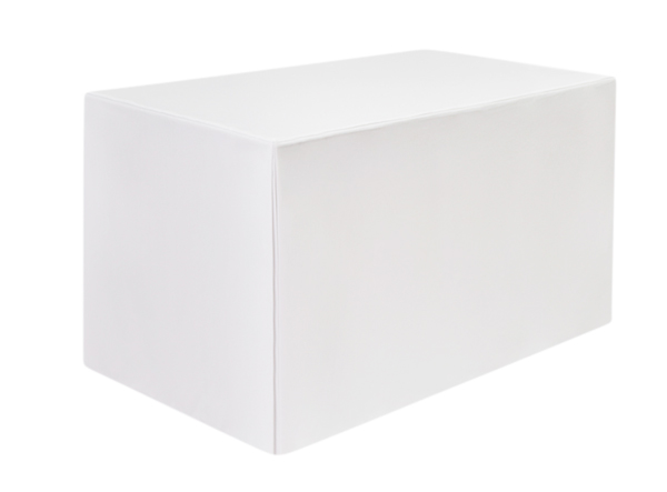 Egyptian Cotton Fitted Square White