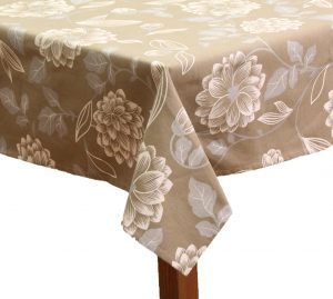 Floral Square Tablecloth