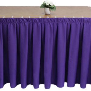 Polycotton Purple Skirting