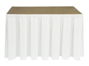 Egyptian Cotton White Skirting
