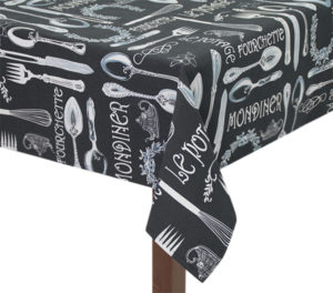 Cutlery Square Tablecloth