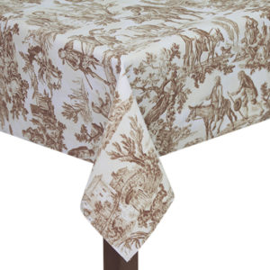 Old England Square Tablecloth